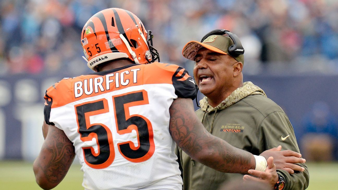 super popular cb8c1 d5156 Vontaze Burfict of Cincinnati Bengals will not be suspended ...