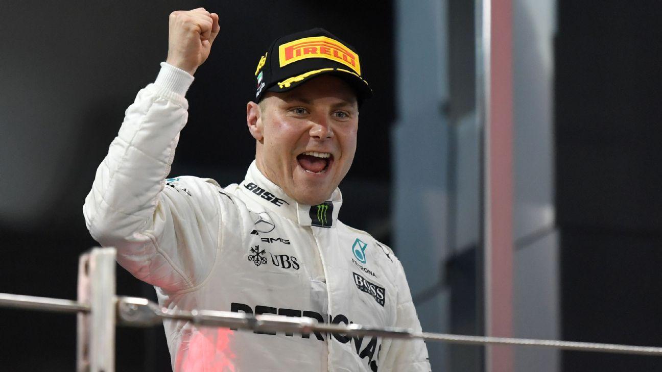 Toto Wolff backs Valtteri Bottas to challenge Lewis
