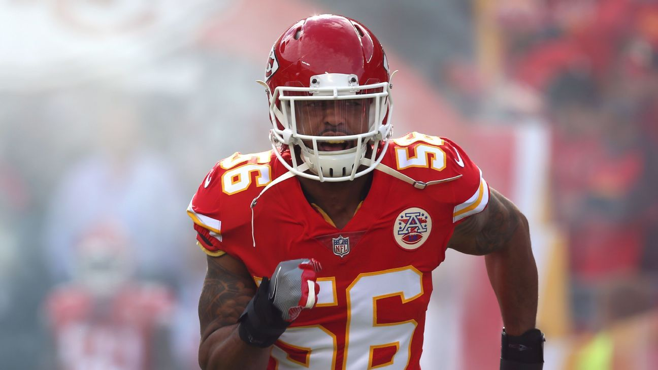 Linebacker Derrick Johnson will be the next player to sign a one-day contract and retire as a member of the Kansas City Chiefs.