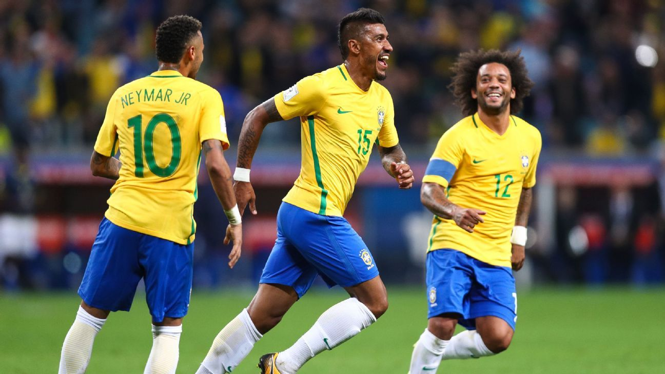 SPI: Brazil most likely to win World Cup 2018 ahead of Spain