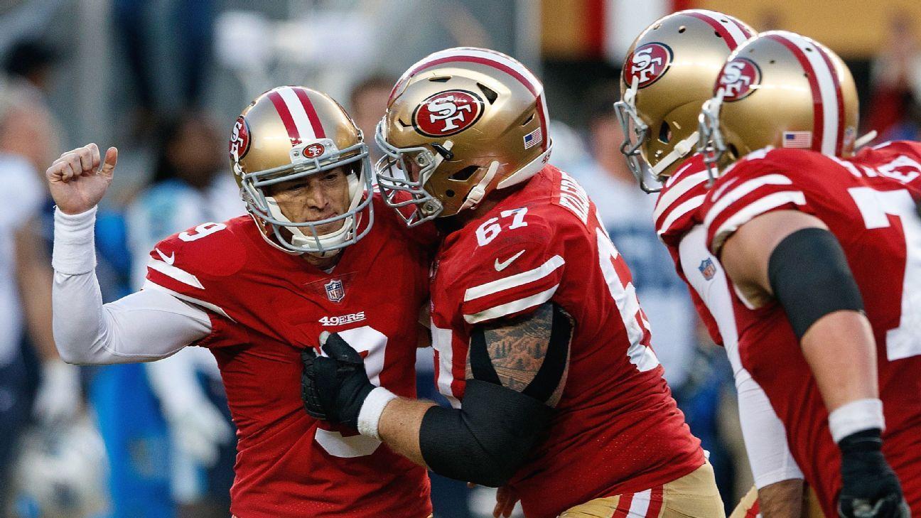 Robbie Gould quietly putting together record-setting season - San Francisco  49ers Blog- ESPN c69772070