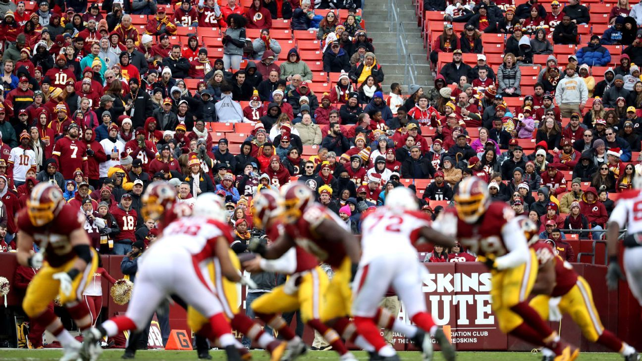 29ac5859 Erosion of Redskins' fan base stems from years of disappointment ...