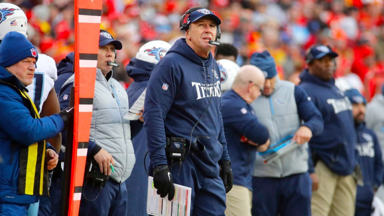 3006a92cb Tennessee Titans coach Mike Mularkey calls having to listen to reports  about job status  ridiculous