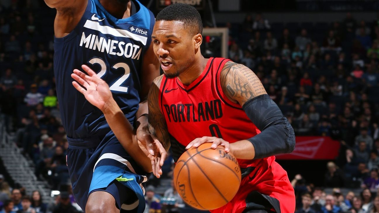 50eb19d2686 Damian Lillard of Portland Trail Blazers frustrated over recent All-Star  snubs