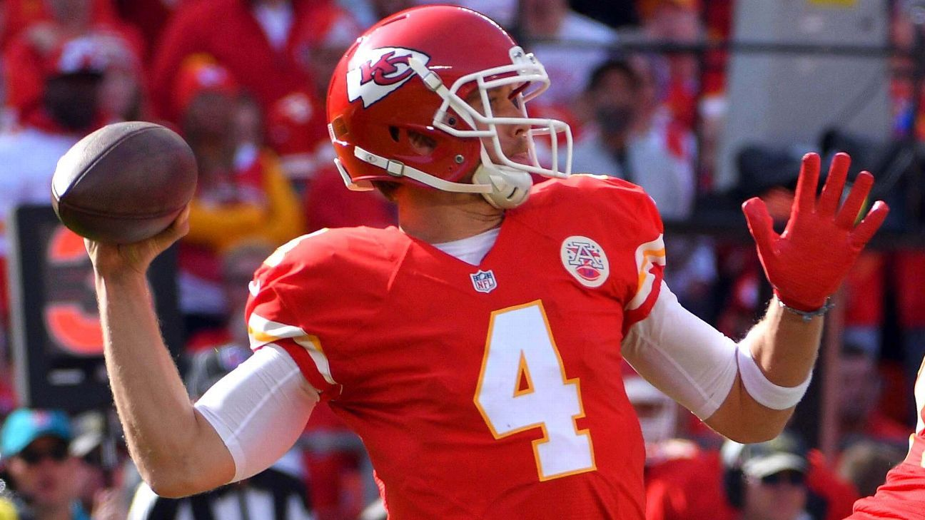 watch 5fee2 916f3 Nick Foles' season with Kansas City Chiefs helped resurrect ...