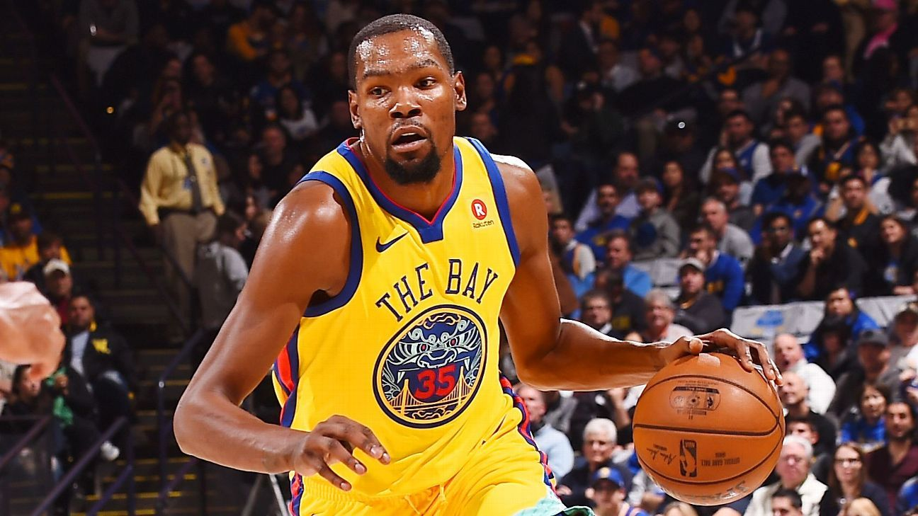 promo code b56a5 94253 Kevin Durant picked first in All-Star Draft