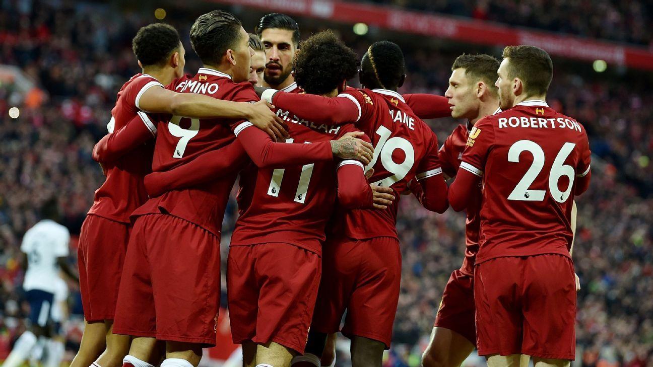Liverpool Tottenham Kick Off