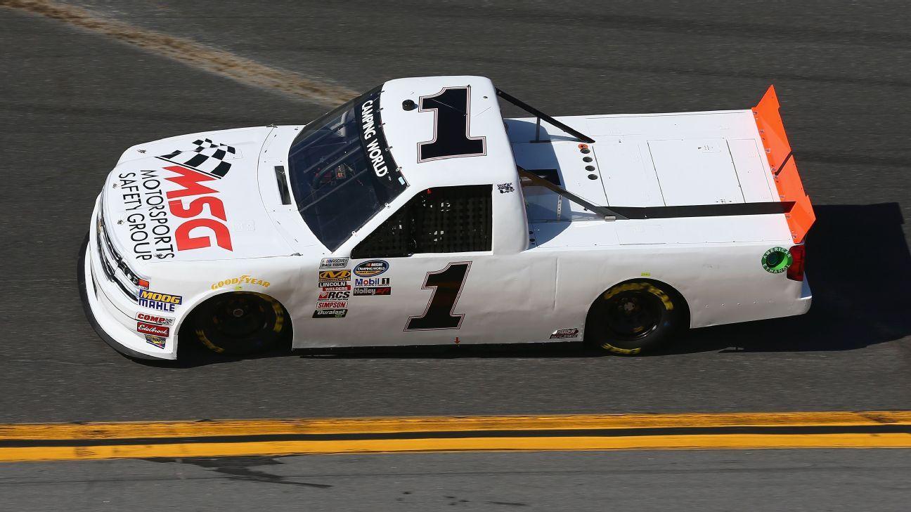 2018 NASCAR Camping World Truck Series Paint Schemes - Team #1