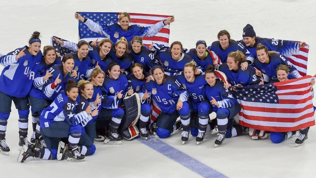 64f4f90e674 NHL quietly helped USA Hockey pay women s national team players