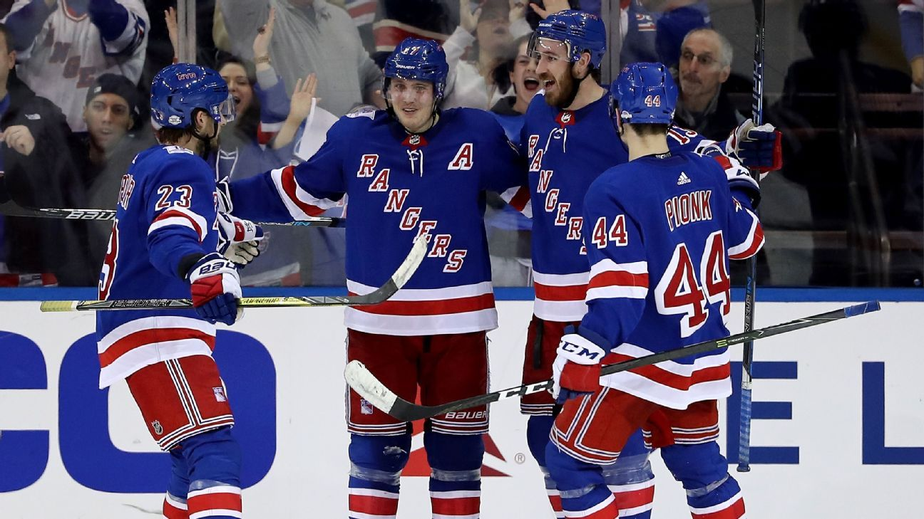 NHL - Trade deadline winners and losers include Rangers