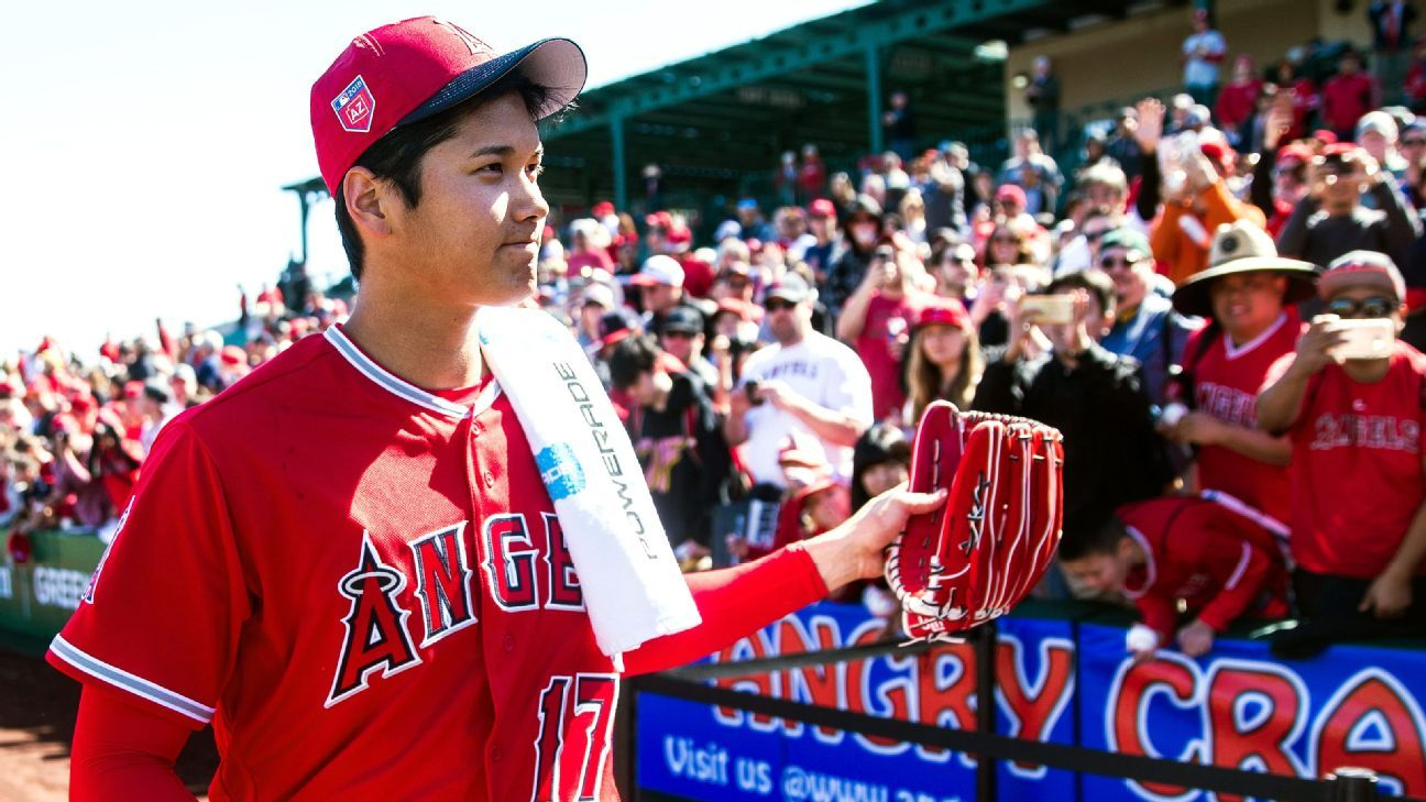 First impressions of Los Angeles Angels  Shohei Ohtani 7627bb2c20c8