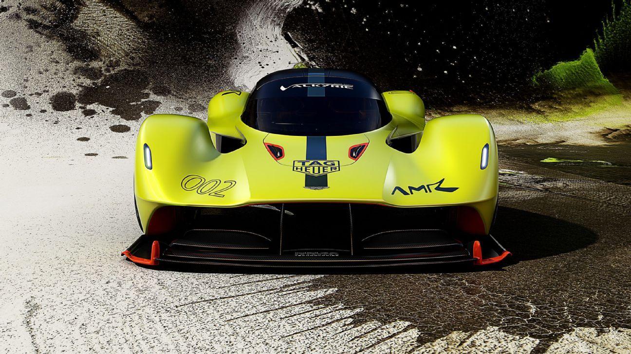Aston Martin Launches Adrian Newey Designed Valkyrie Amr Pro