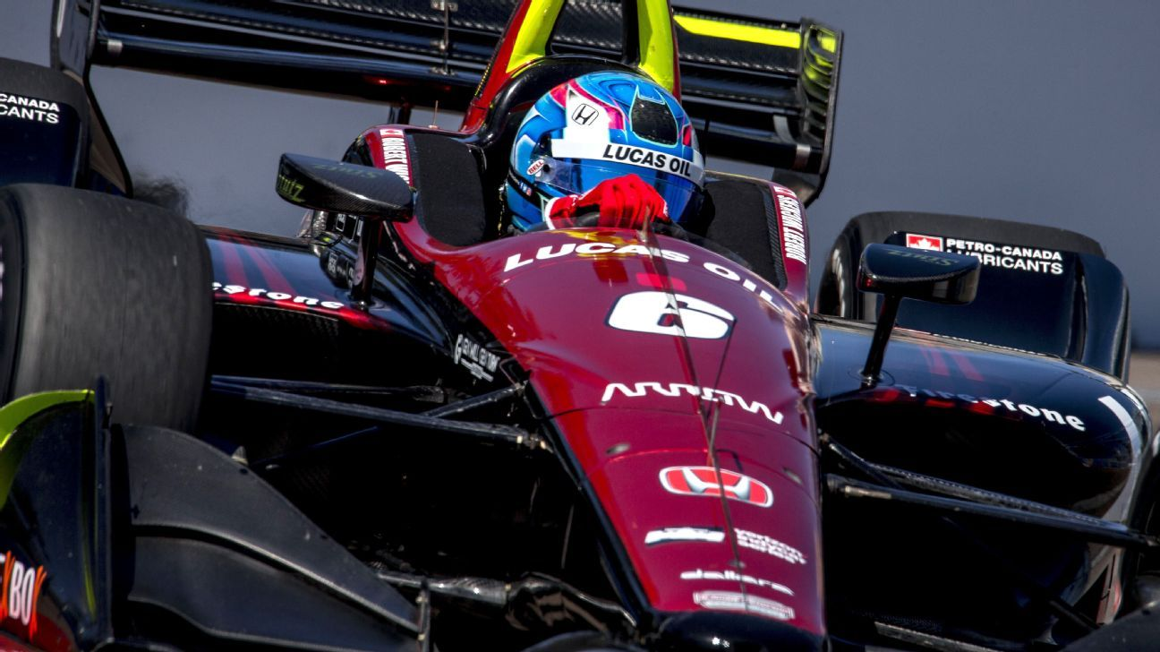 Robert Wickens to make IndyCar debut on pole at St. Petersburg