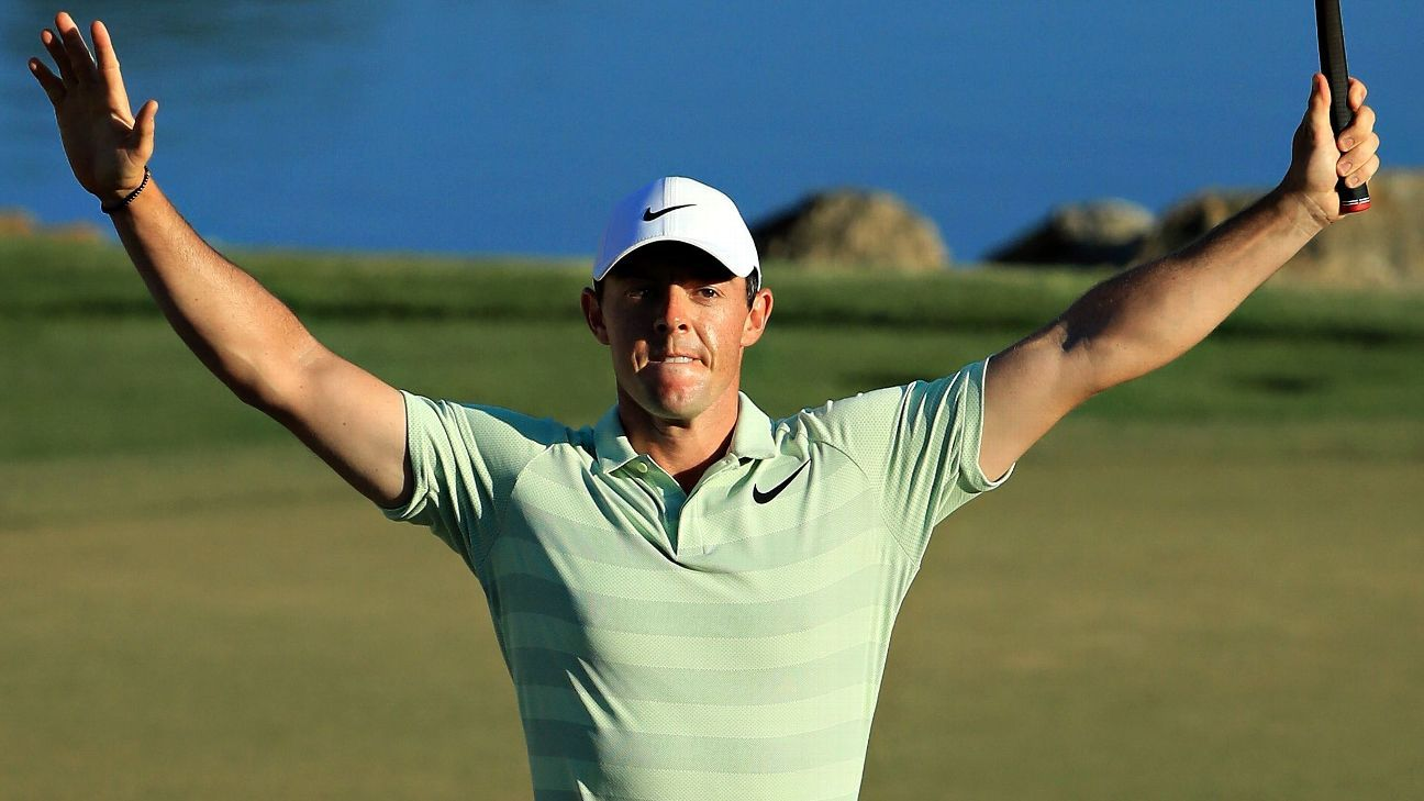 24e77971bf6 Rory McIlroy wins Arnold Palmer Invitational at Bay Hill for first win  since September 2016