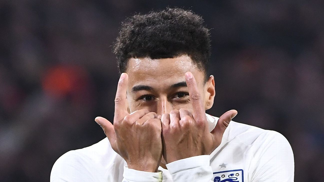 cffd3e0cc Manchester United s Jesse Lingard  I m more comfortable playing for England