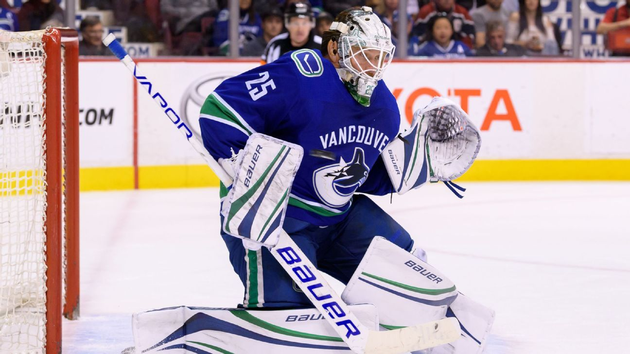 Canucks Jacob Markstrom To Miss At Least 2 Weeks After Surgery