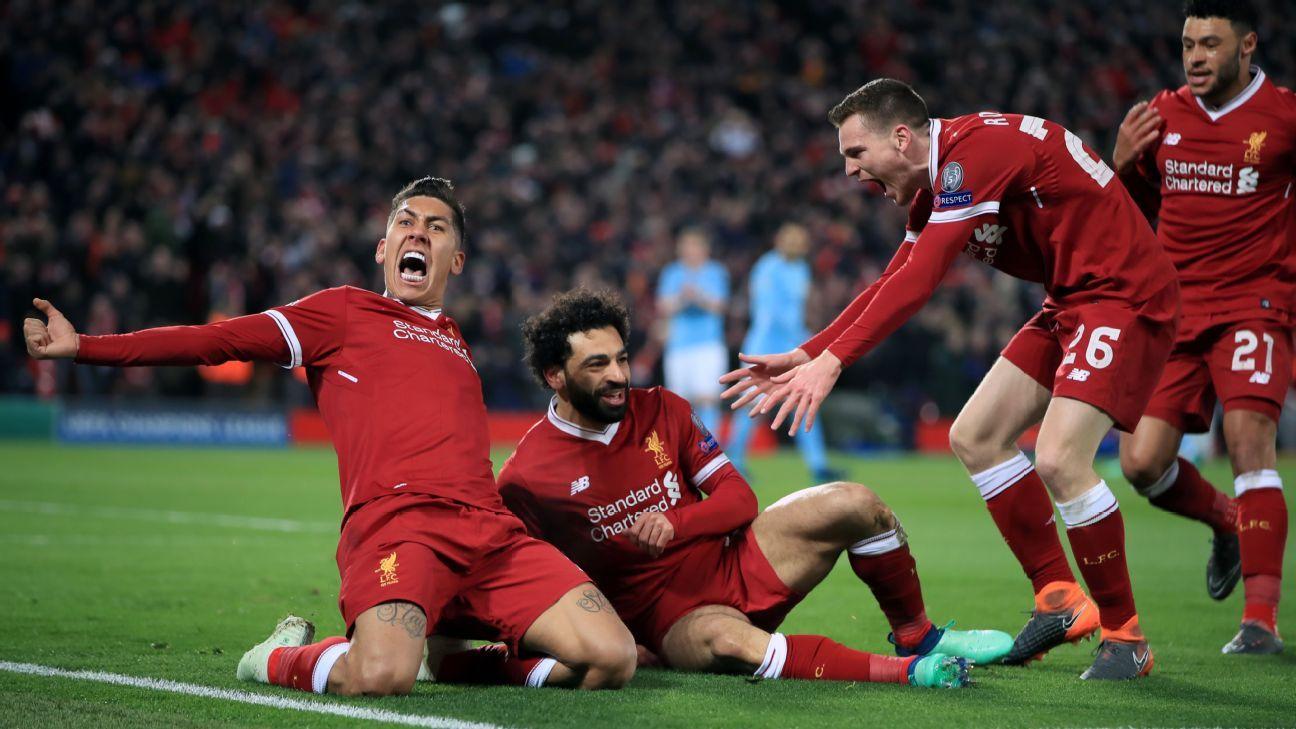 Liverpool 3-0 Manchester City: Reds roar past Premier ...  |Man City-liverpool