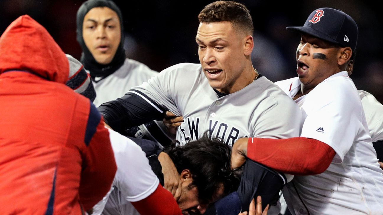 d1d28d9b45e Bad blood brewing after Wednesday s bevy of brawls - SweetSpot- ESPN