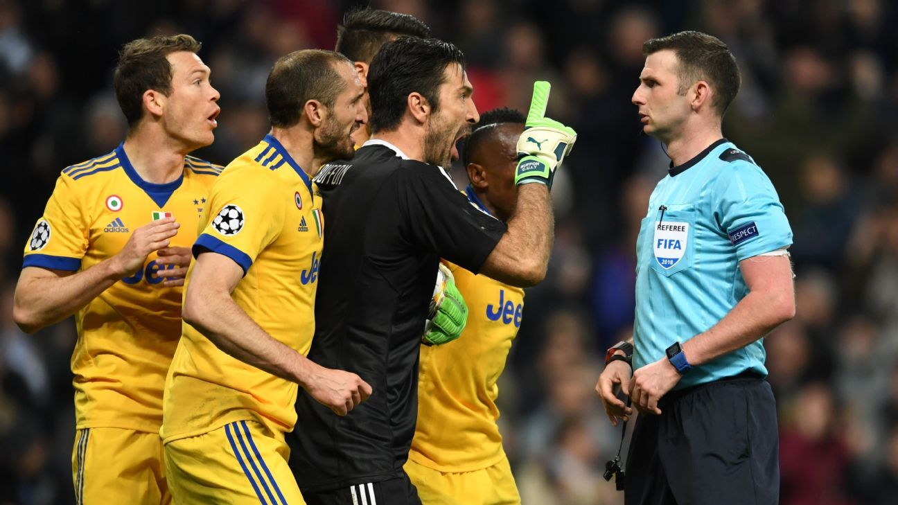 015b771e2ae Andrea Pirlo: Juventus' Gianluigi Buffon right to 'lose control' vs. Real  Madrid