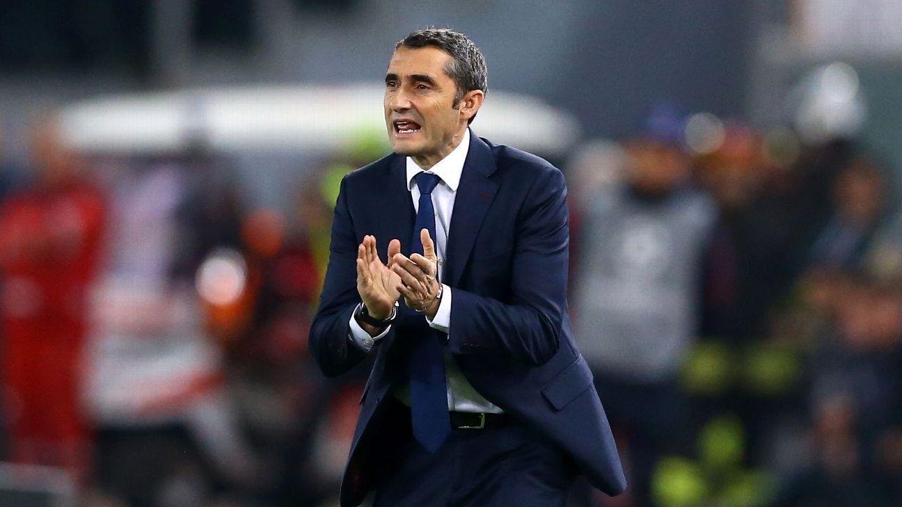 Ernesto Valverde fait le point sur l'état de forme de Messi, Dembélé et Umtiti