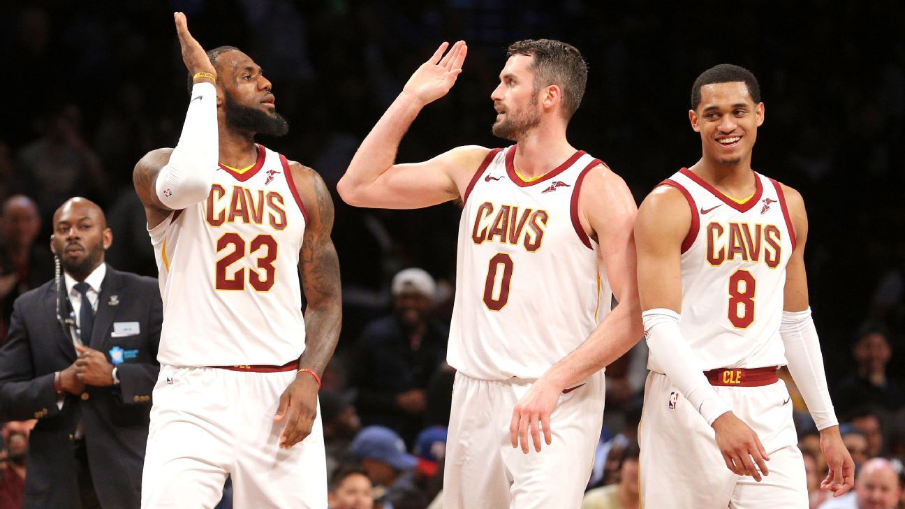 236e2c827254 Kevin Love says Cleveland Cavaliers have a good shot despite moving parts