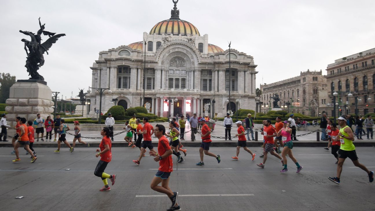 more than three thousand runners disqualified from mexico city marathon