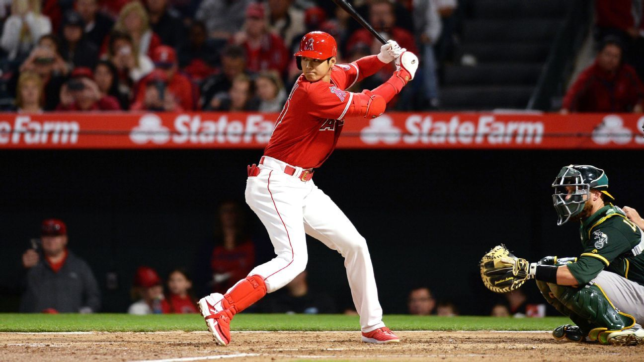 quality design e48d1 46f4d Shohei Ohtani made one small step on his way to MLB success