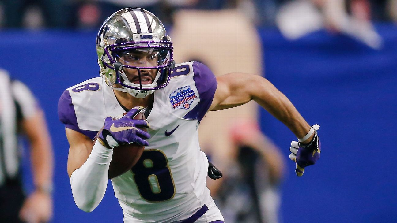 Dante Pettis Taken By San Francisco 49ers With
