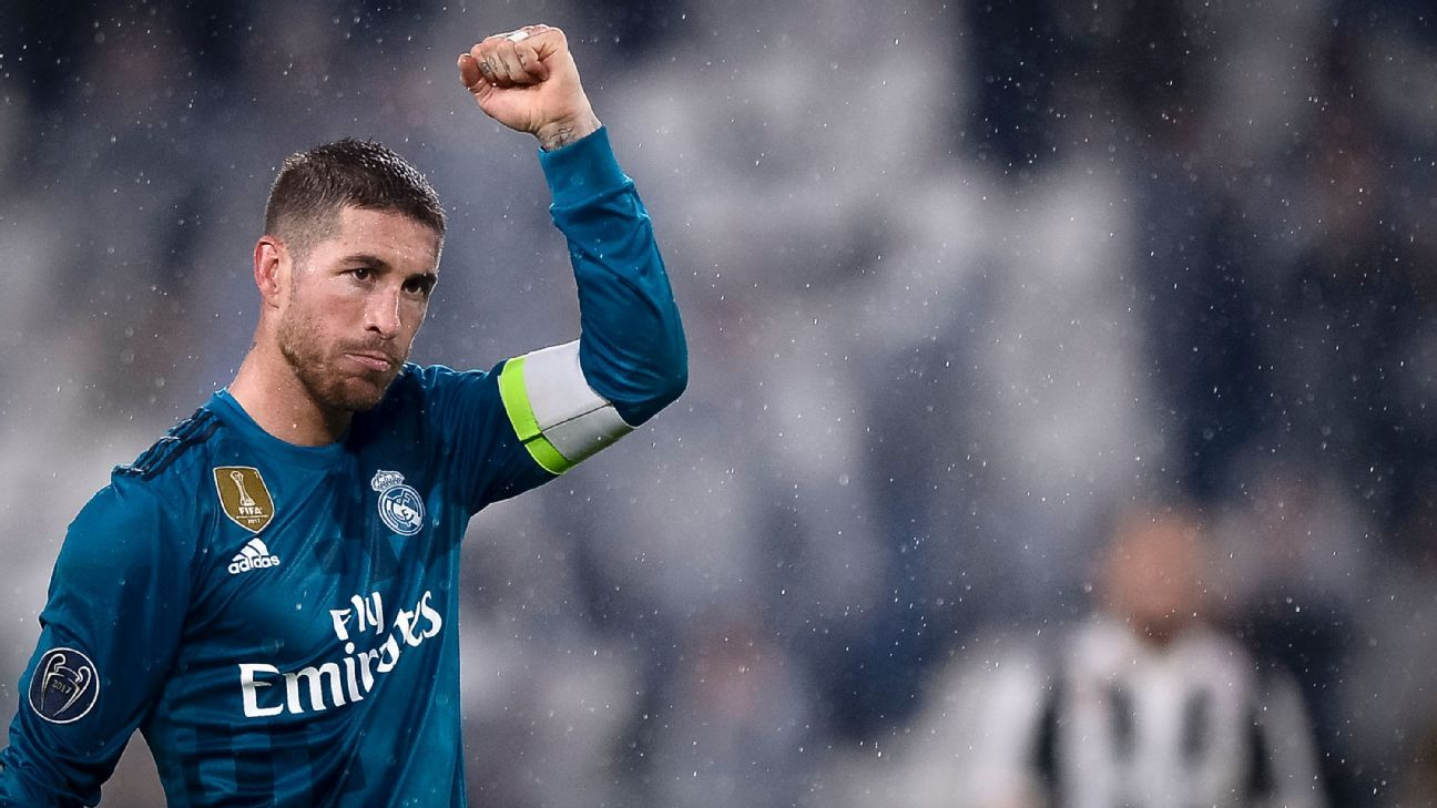 2c83544b8 Real Madrid deny claim Sergio Ramos failed a doping test after 2017  Champions League final