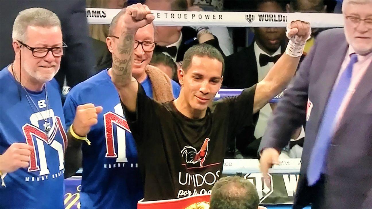 La Pulga Las Vegas >> 'Manny' Rodríguez le da a Puerto Rico un nuevo campeonato mundial