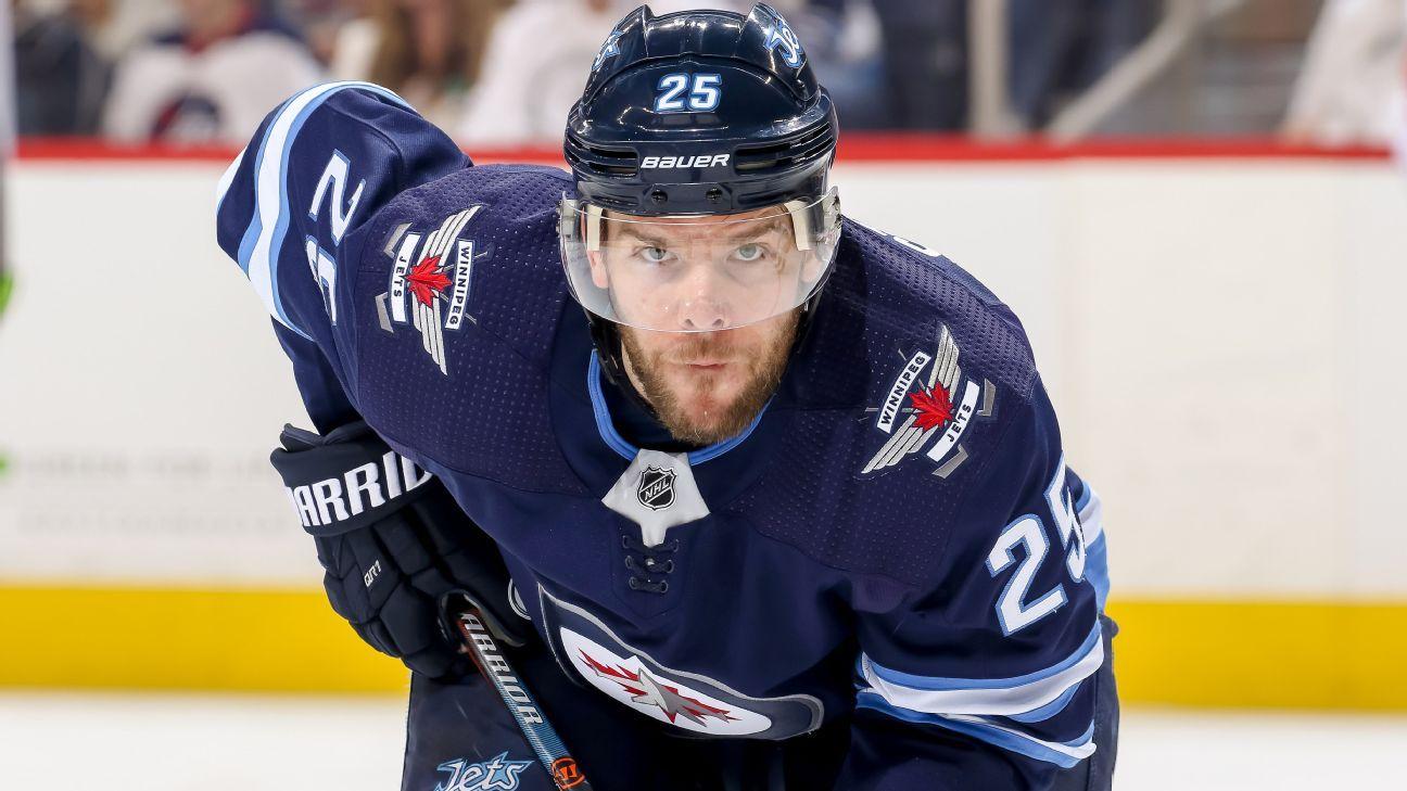 Vegas Golden Knights Trade Paul Stastny To Winnipeg Jets For Carl Dahlstrom 2022 Draft Pick