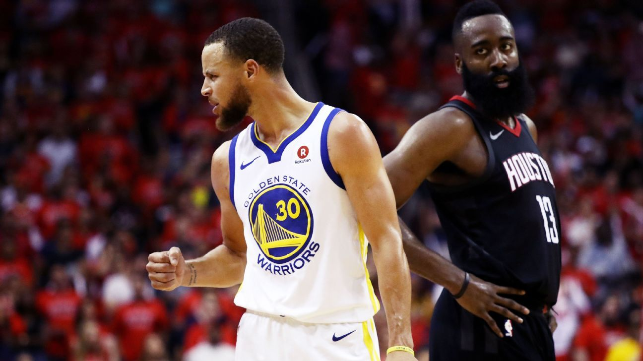 d7d4e325468 Stephen Curry has breakout third quarter for Golden State Warriors in Game  7 win over Houston Rockets