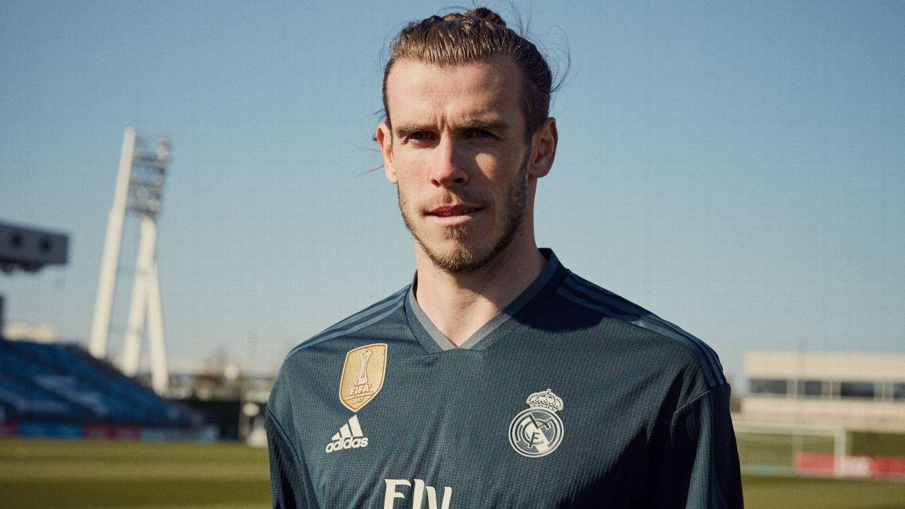 5dd5cf460a2 Gareth Bale stars, no Cristiano Ronaldo in Real Madrid 2018-19 kit launch