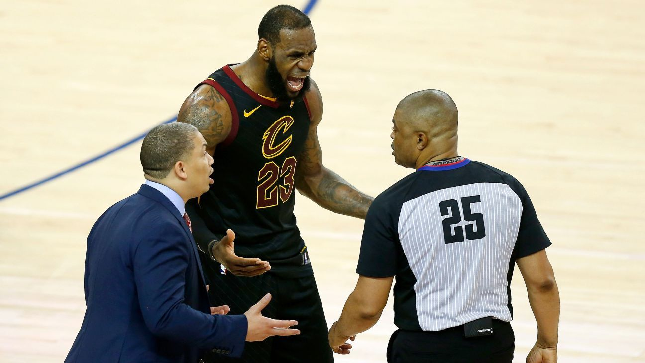 3698817de85e 2018 NBA Finals  Behind the crucial calls NBA refs make on the biggest stage