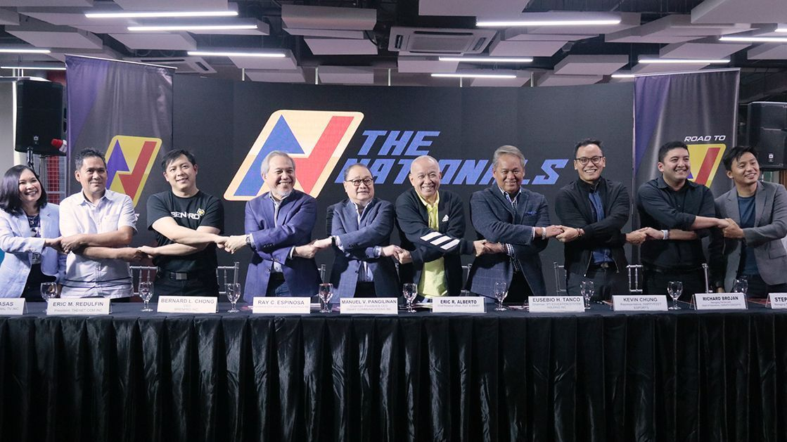 The Nationals is first esports franchise league in PH