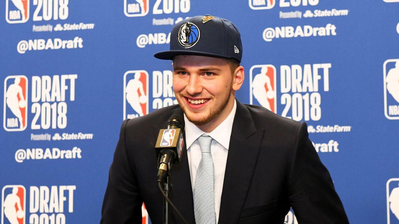 3f068dbe3a4 2018 NBA draft -- Dallas Mavericks to acquire Luke Doncic