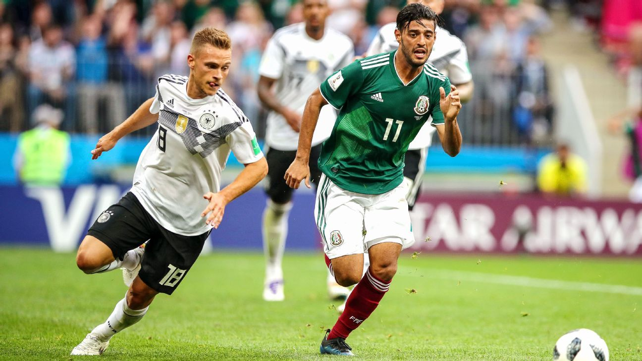 ac4ed5b453d Mexico s World Cup odyssey gets a boost from Carlos Vela
