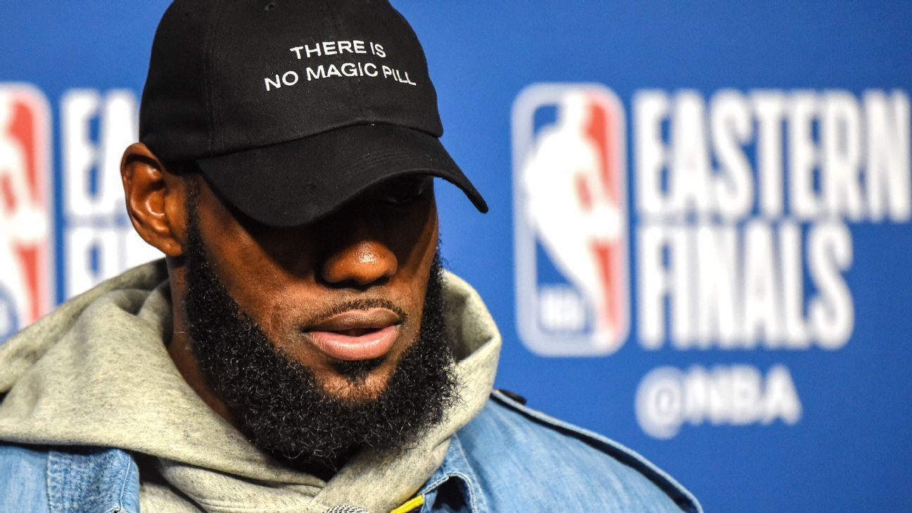 The case for Cleveland - Why LeBron James might have given us clues that  he s staying home this summer 9767fd144ad