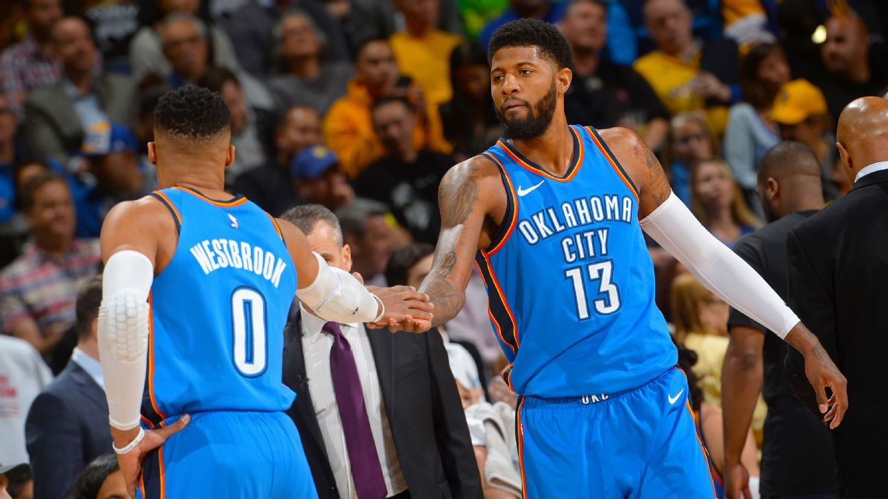 3085174d52f Paul George commits to re-sign with Oklahoma City Thunder