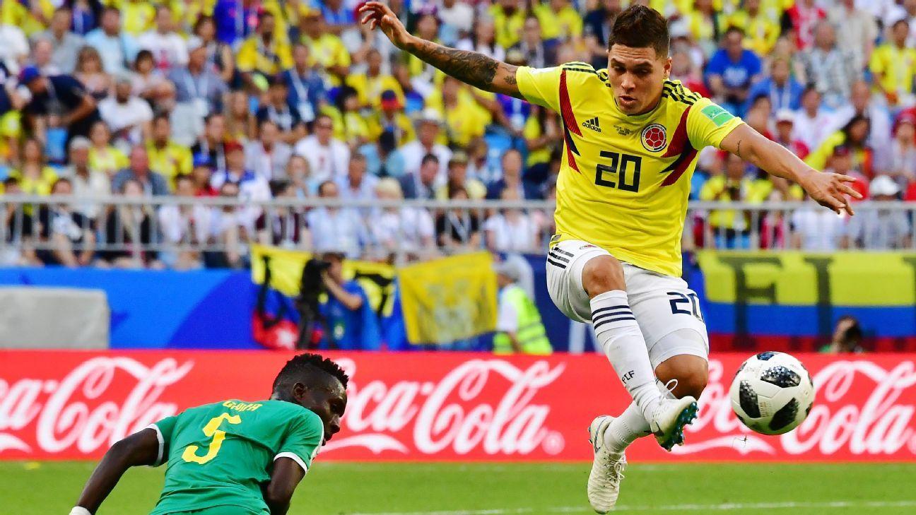 9115b5d3360 Colombia have a new leader  Meet Juan Fernando Quintero