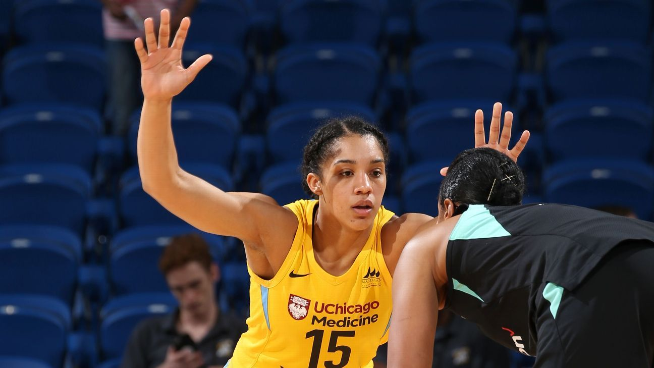 Chicago Sky rookie Gabby Williams fights to make sure she's
