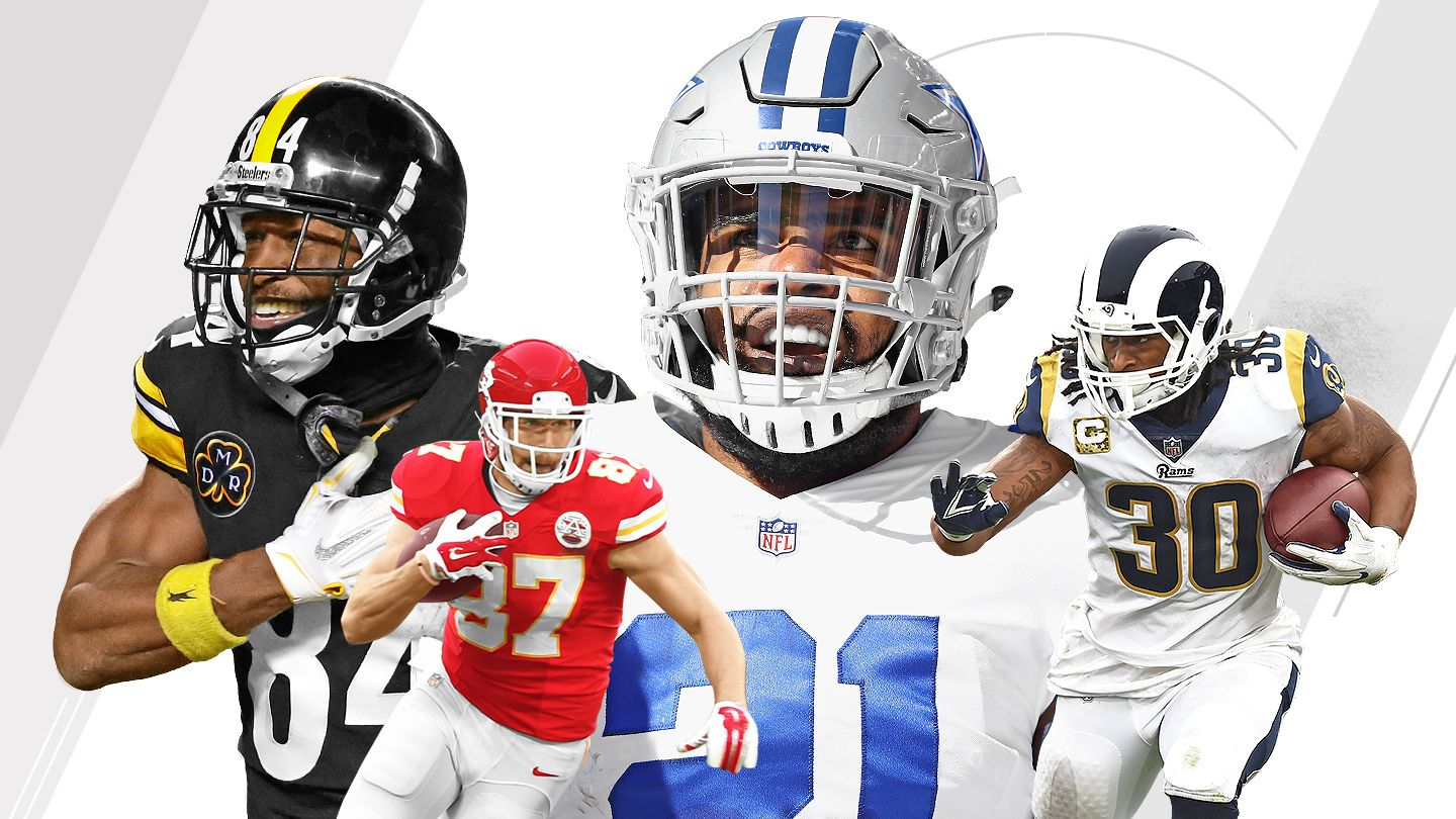 Ranking NFL's best, worst offensive arsenals, weapons - 2018