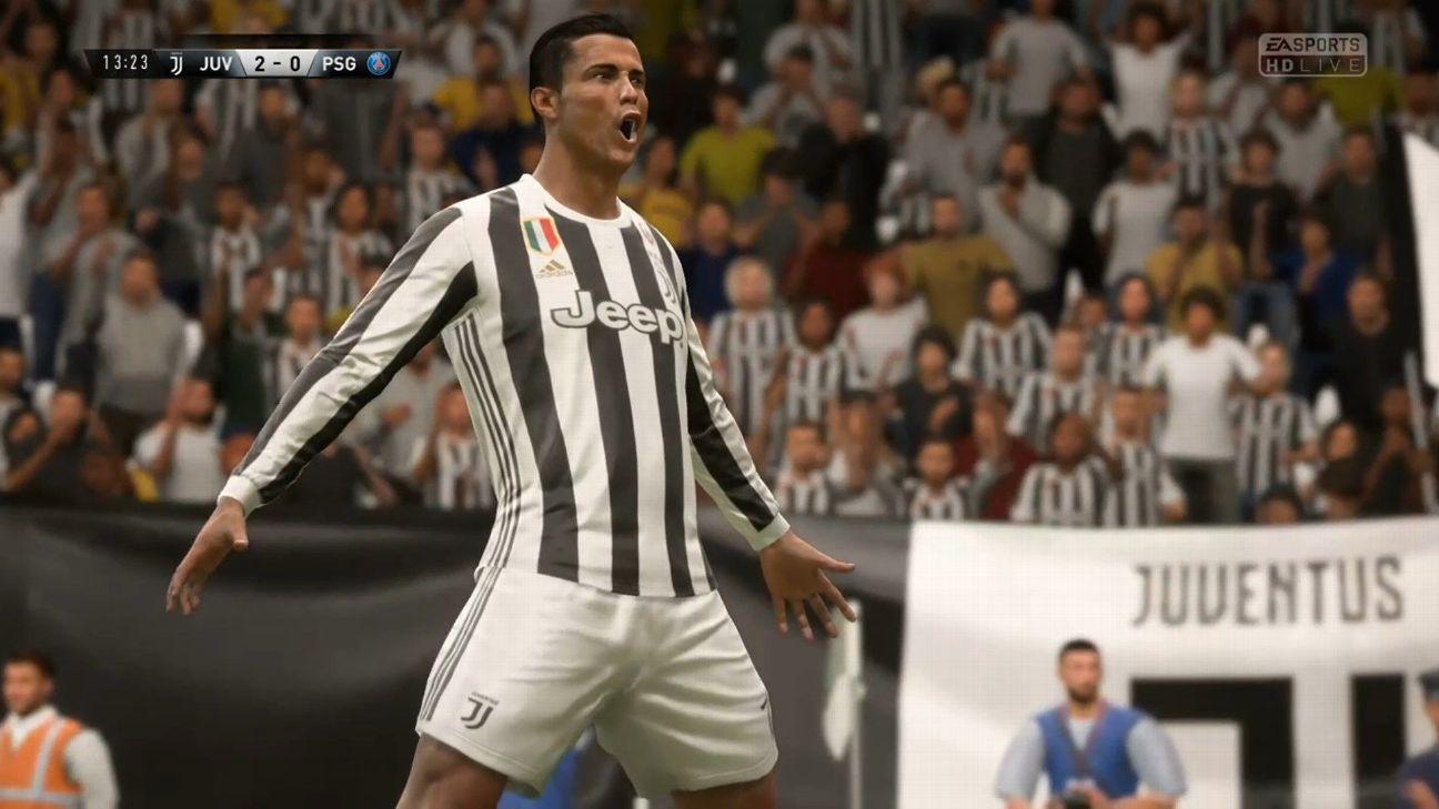 Qual é o impacto da chegada de Cristiano Ronaldo para a Juventus e FIFA 19 129edeedfc113