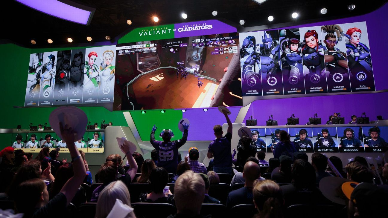 huge discount 2e211 bb43e Overwatch League comes to ESPN, Disney and ABC