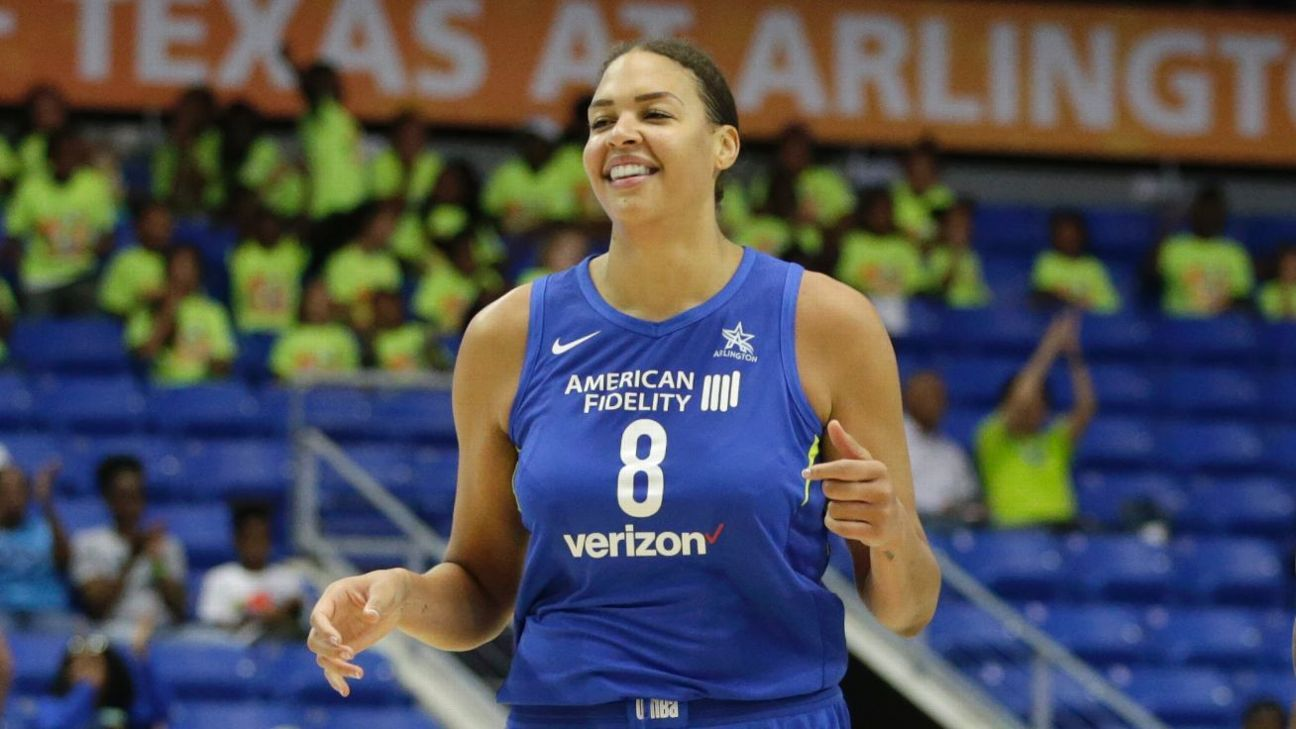 liz cambage of dallas wings sets wnba mark with 53 point game