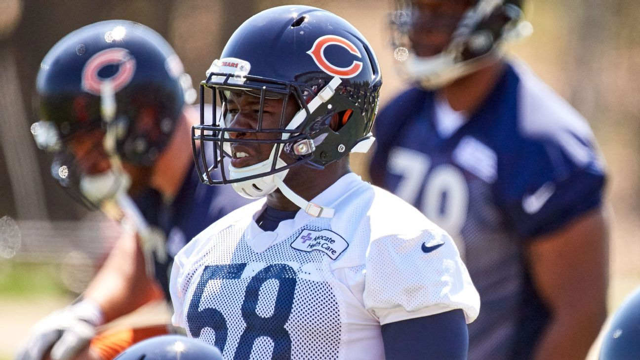Sources: Bears LB Smith not acting like himself