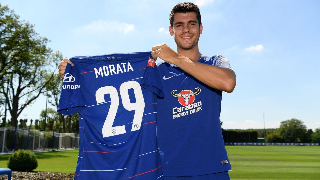 d0f131cc80 Morata troca de número no Chelsea  relembre jogadores que tiveram temporadas   amaldiçoadas  pela camisa 9