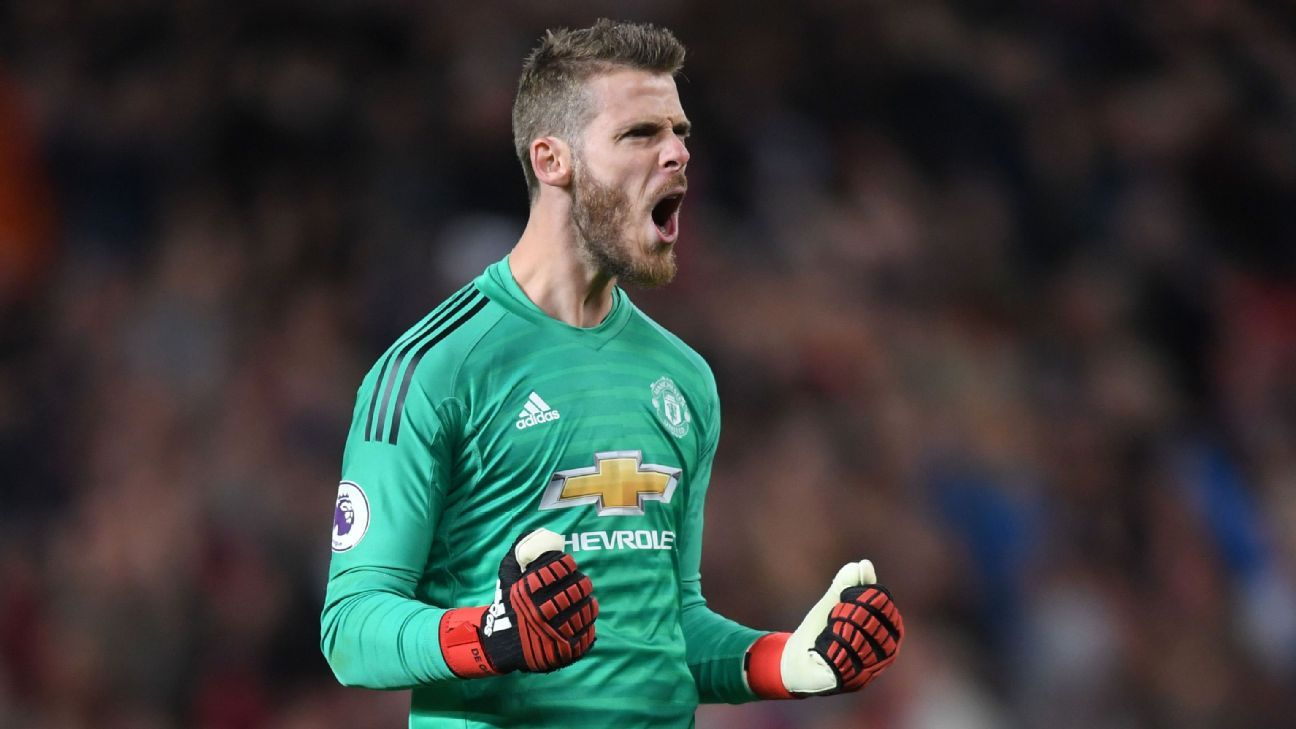 bfe9c6983 De Gea favours new Man United contract over Juventus PSG transfers ...