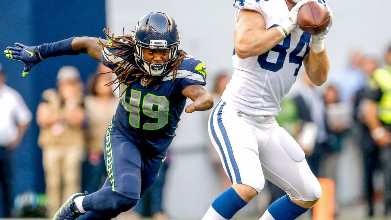 1b5f07a70 Seahawks may need Shaquem Griffin to replace K.J. Wright - Seattle Seahawks  Blog- ESPN