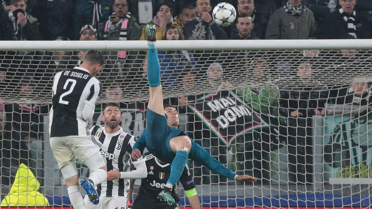 Cristiano Ronaldo Bicycle Kick Against Juventus Wins Uefa Goal Of The Season